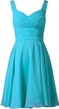 ANTS Women's V-neck Chiffon Bridesmai…
