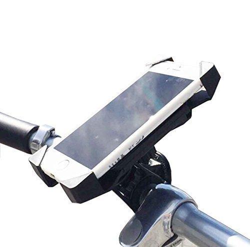 スマホスタンド スマホホルダー スマートフォンホルダー スマートフォンスタンド スマホ スマートフォン スタンド ホルダー 自転車アクセサリー バイク スマホ 全機種 対応 iPhone Android バーマウントホルダー マウントステー 厚さ調整パッド付バイクアクセサリー
