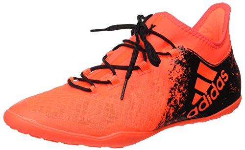 Adidas X 16.2 Court Scarpe da Calcio Uomo, Arancione (solar Red/core Black/solar Red), 42 EU