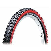 Panaracer Fire FR Tire with Wire Bead, Red, 26 x 2.40-Inch