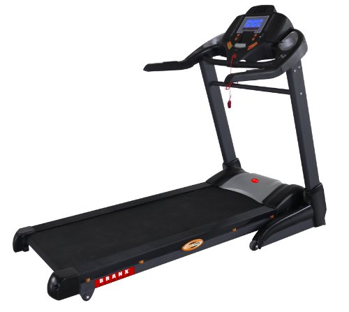 Branx Fitness 22Kph Mega Spec - Foldable Semi Commercial 'Gym Runner Pro' Treadmill