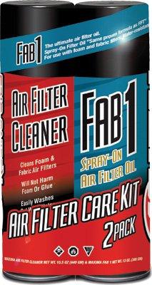 MAXIMA Air Filter Maintenance Care Kit Combo - 2 Pack 70-799202