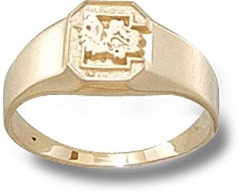 University of South Carolina C Ring - 10K Gold-Size 6 by Logo Art