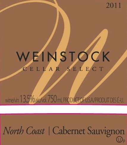 2011 Weinstock Cellar Select North Coast Cabernet Sauvignon 750 Ml
