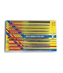 Diamond Metal Needle Files (10-Piece)