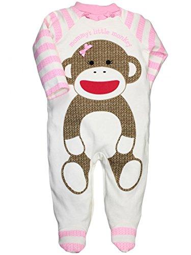 Monkey Pajamas For Girls
