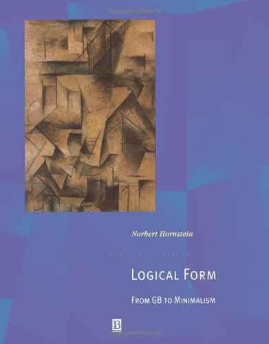 Logical Form: From Gb To Minimalism