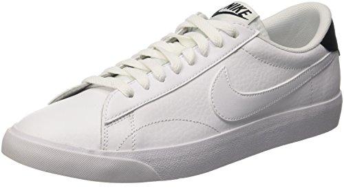 Nike Tennis Classic Ac, Scarpe da Ginnastica Uomo, Bianco (White/White/Black), 41 EU