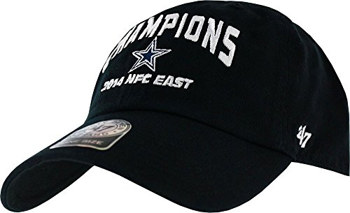 Dallas Cowboys 2014 Division Champs Black Clean-Up Strapback Hat (Cowboys Nfc East Champions Shirt compare prices)
