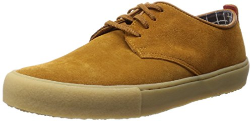 Clarks Originals - Desert Vulclo, Scarpe con lacci Derby da uomo, marron (light tan), 41
