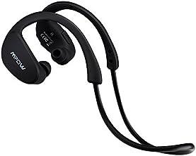 Mpow Cheetah Auriculares estéreo deportes Bluetooth 4.1 para correr cascos deportivos de manos libre, Deportes Auricular con Tecnología aptX Avanzada para iPhone, iPad, LG, Samsung y Otros Teléfonos Móviles Android