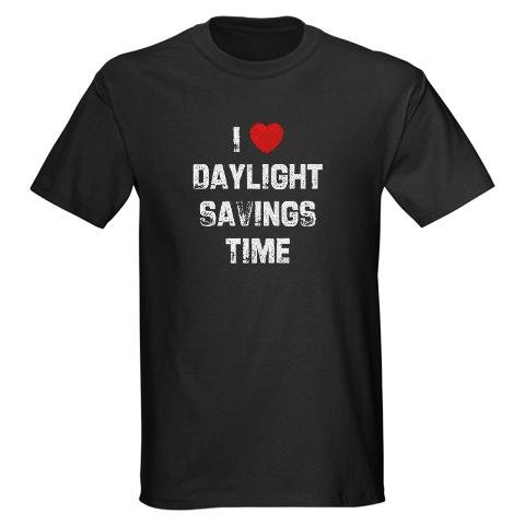 I Love Daylight Savings Time T-Shirt