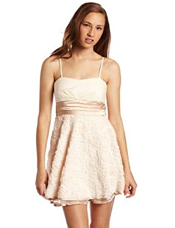 Amazon.com: Xoxo Juniors Party Dress With Floral Bottom, Pink, 3