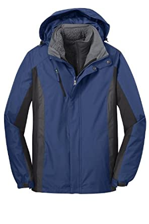 Port Authority Mens Water Resistant 3 in 1 Jacket by Port Authority