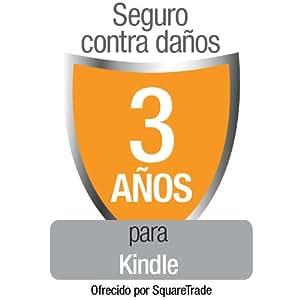 Seguro contra daños SquareTrade para Kindle, para clientes residentes en España