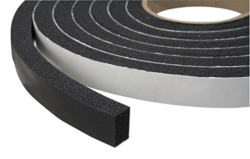 Strip install cold weather adhesive