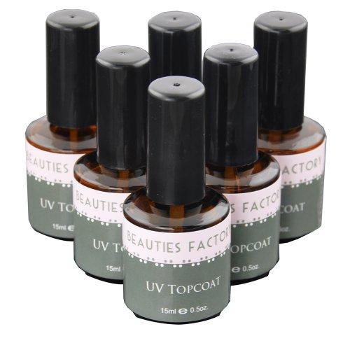 Beauties-Factory-6-x-UV-Topcoat-Nail-Gel-Top-Coat-Polish-Surface-Sealer