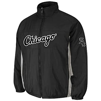 Chicago White Sox Authentic Double Climate On-Field Jacket by Majestic