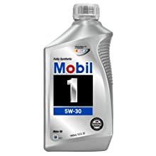Mobil 1 94001 Synthetic 5W-30 Motor Oil - 1 Quart (Pack of 6)