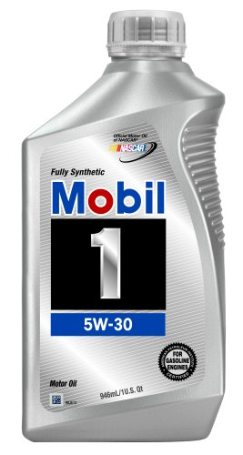 Mobil 1 94001 Synthetic 5W-30 Motor Oil - 1 Quart, Pack of 6