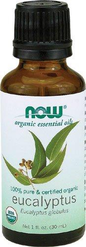 NOW Foods Organic Eucalyptus Oil, 1 ounce