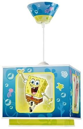 Dalber 63502 Hängeleuchte Sponge Bob Kinderzimmer Lampe Leuchte