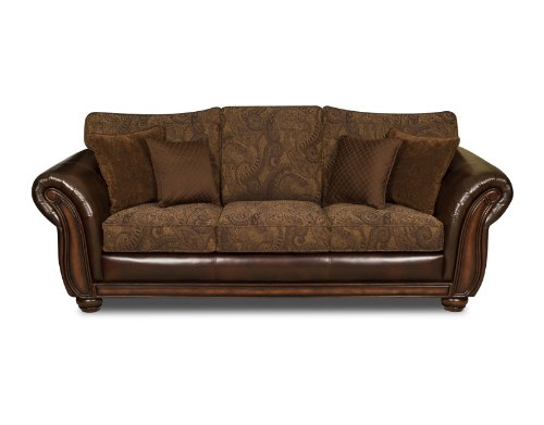 simmons sleeper sofa simmons vintage leather tobbaco fabric queen size sofa sleeper from. Black Bedroom Furniture Sets. Home Design Ideas