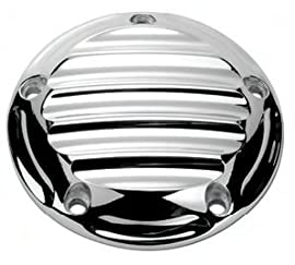 Roland Sands (RSD) Nostalgia Ignition Cover (5-Hole) - Chrome - Harley Davidson Twin Cam 1999-Up - Performance Machine (RSD) - 0177-2013-CH