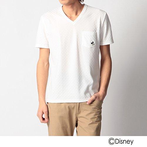 (ボイコット)BOYCOTT シャドウチェックワンポイントTシャツ(ミッキーマウス) ホワイト(001) 02(M)