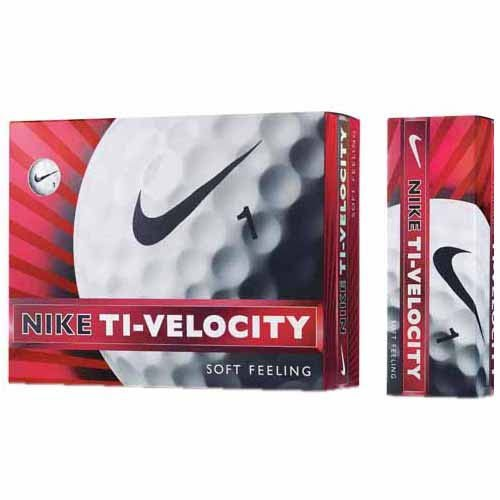 NIKEGOLF (Nike Golf) 2013 model TI-VELOCITY 12 balls on white GL0612-101