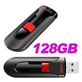 サンディスク Sandisk USBメモリ 128GB 高速純正品 並行輸入品 パッケージ品 SDCZ60-128G