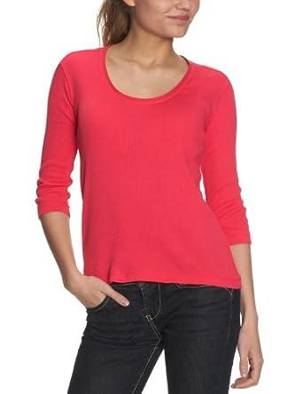 CK Calvin Klein Damen Shirt/ Langarmshirt KWP479 JDL00, Gr. 40 (IT 46), Pink (440)