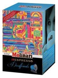 Molinari Decaffeinated Espresso Capsule for Nespresso (10 capsules)