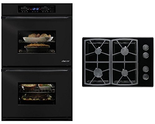 dacor-classic-2-piece-black-kitchen-package-with-eors230b-30-double-electric-wall-oven-and-sgm304b-3