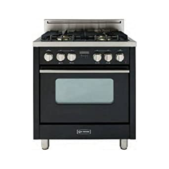 VEFSGG31ENG Pro Series 3.0 cu. ft. Capacity Convection Oven 30 Freestanding Natural Gas Range 4 Sealed Dual Simmer Burners Turbo-electric Convection Fan: High Gloss