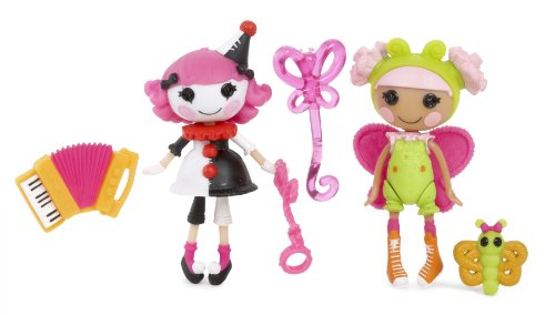 Mini Lalaloopsy Fun House Charlotte and Blossom, Pack of 2 - 1