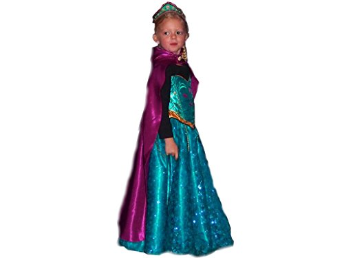 Handmade Princess Costume Baby Girls' Elsa Princess Dress Frozen Disguise