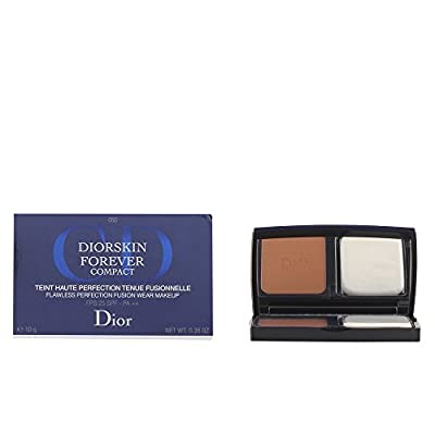 Christian Dior Compact Flawless Perfection Fusion Wear Makeup, 050/Dark Beige Dior, 0.35 Ounce