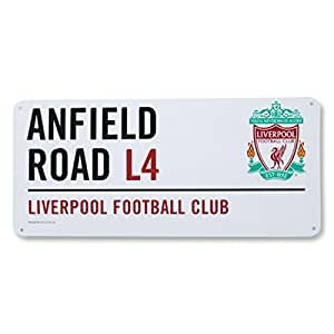Liverpool street sign 40 x 18cm
