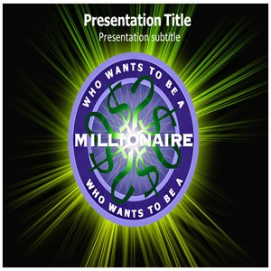 Who wants to be a millionaire powerpoint for Who want to be a millionaire template powerpoint with sound