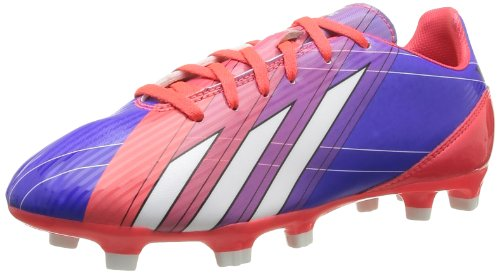 Adidas Boys' F10 Trx Fg J Football Boots Turbo/Noir/Blanc 28