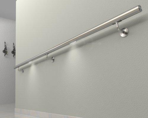 handlauf mit beleuchtung preisvergleiche. Black Bedroom Furniture Sets. Home Design Ideas