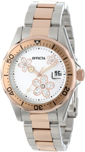 review invicta women s 12507 pro diver silver