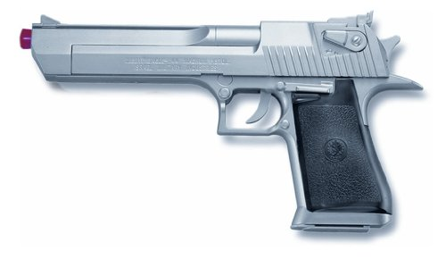 Officially Licensed Desert Eagle Spring Powered .44 Magnum Silver Airsoft Gun Pistol