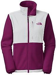 The Northface Womens Denali Jacket, ParlourPurple/ High Rise Grey (large)