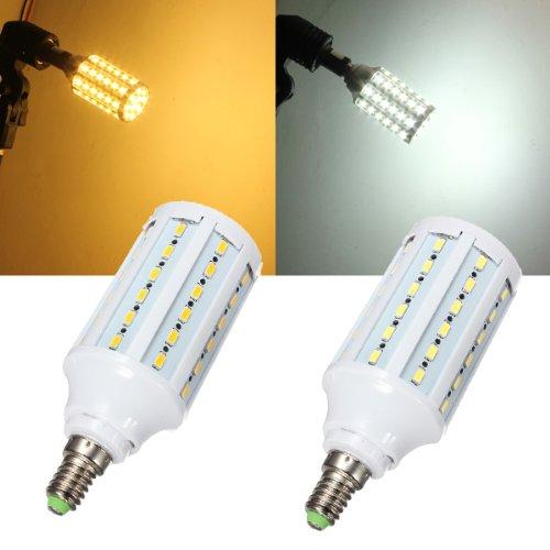 E14 15W White/Warm White 5630Smd 60 Led Corn Light Bulb Lamp 110V
