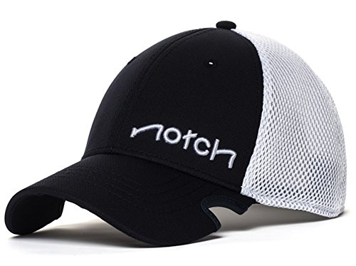 Notch Men's Classic Stretch Fit Baseball Cap S/M Navy/White (Fitted Low Profile Tactical Hat compare prices)
