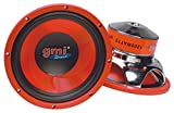 "10"" PA Woofer Speaker Replacement - 1200 Watts - 4-8 ohms - For Home, Car, LoudSpeakers, and Professional Needs, By GMI Pro"