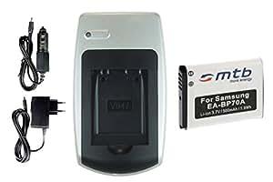 Chargeur + Batterie EA-BP70A pour Samsung