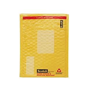 Amazon Com Scotch Smart Mailer Bubble Plastic Mailer 6